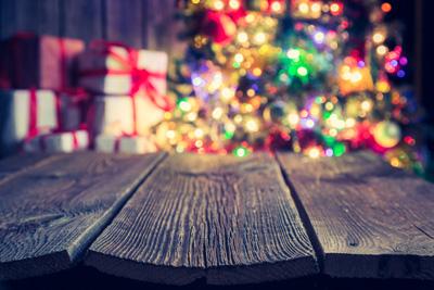 Christmas Deck Decoration
