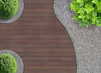 curved deck kirkland
