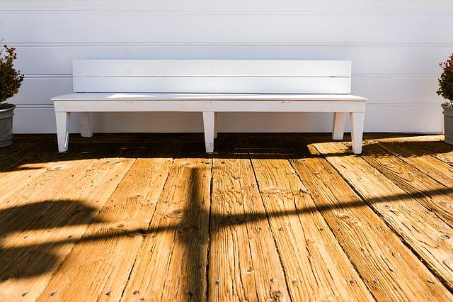 walkout basement deck, lower level deck